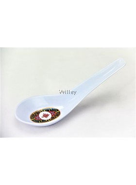 YC MELAMINE CHINESE SPOON