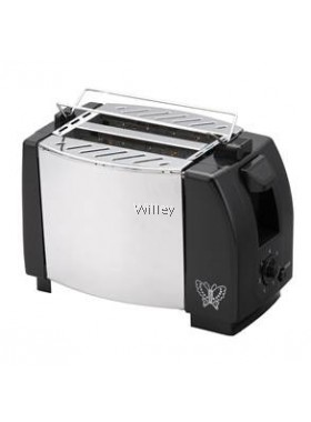 BUTTERFLY 2 SLICE STAINLESS STEEL TOASTER