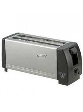 BUTTERFLY 4 SLICE STAINLESS STEEL TOASTER