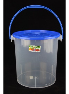 757H PLASTIC CONTAINER W/HANDLE