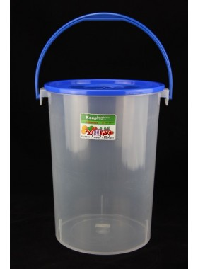 3307H PLASTIC CONTAINER W/HANDLE