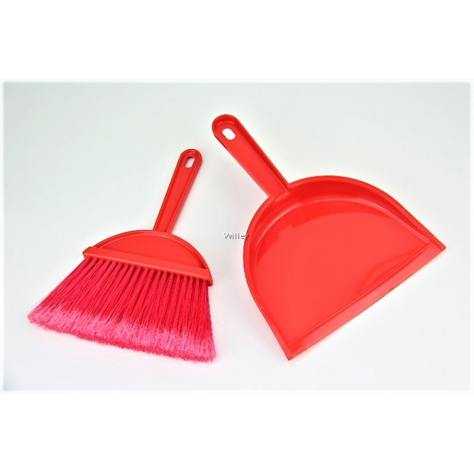 Mini Broom With Dustpan