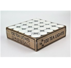 TEA LIGHT CANDLE 100PCS / LILIN