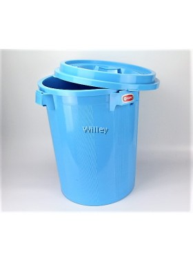 38GAL WINNER PAIL WITH COVER