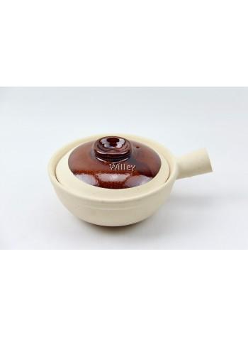 Single Handle China Claypot 17cm / 19cm
