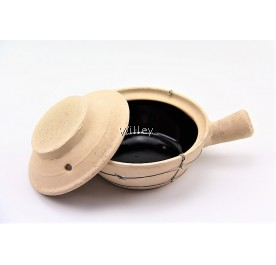 SINGLE HANDLE WIRE CLAYPOT 18CM