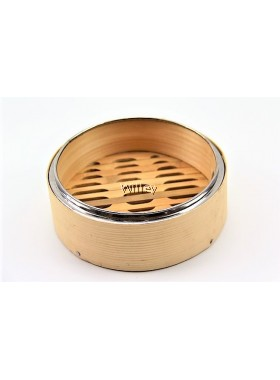 "7"" BAMBOO STEAMER BASKET & COVER"