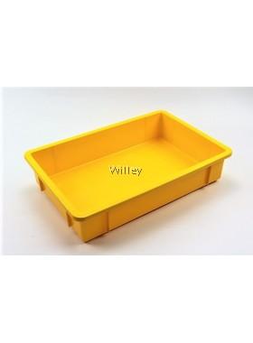 Stackable tray / Cake Tray / Yellow Tray 5126