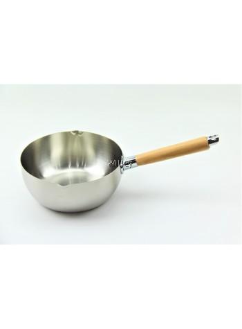 Japanese Stainless Steel Saucepan 18cm / 20cm / 22cm