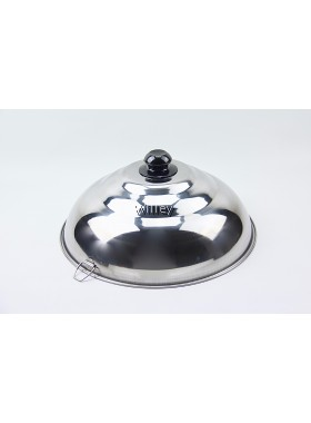 Thick Stainless Steel Wok Cover 31cm / 34cm