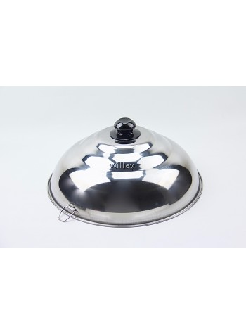 Thick Stainless Steel Wok Cover 41cm / 43cm